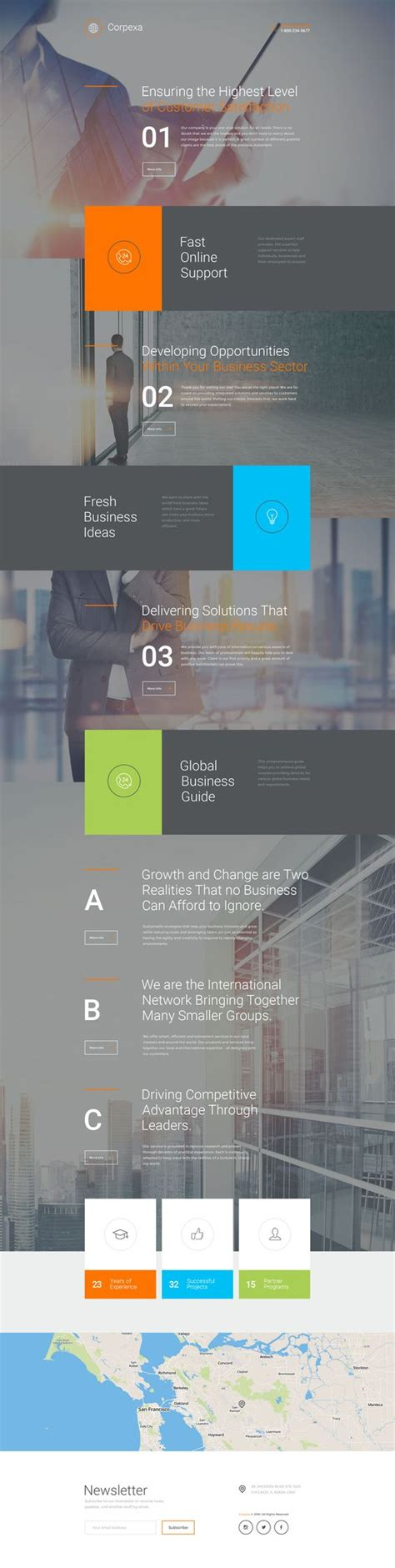 business landing page template business responsive landing page template birthdays