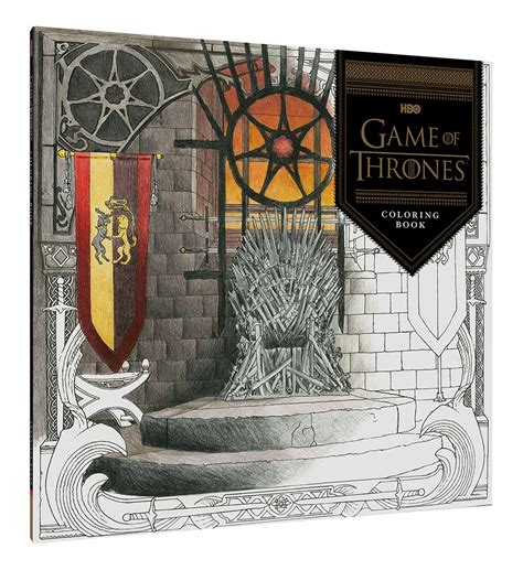 a of thrones coloring book finished hbo s of thrones coloring book chronicle books