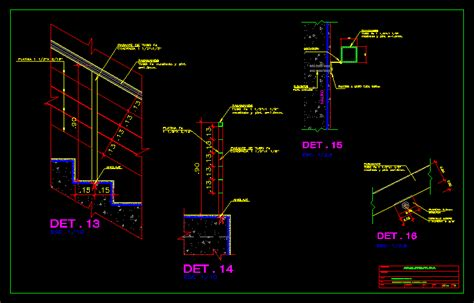 Handrail Detail Dwg railing detail dwg detail for autocad designs cad