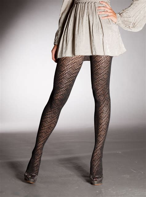 patterned nylon tights patterned pantyhose pics
