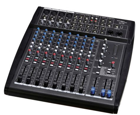 Mixer China 4 Channel 12 channel audio mixer from china manufacturer ningbo
