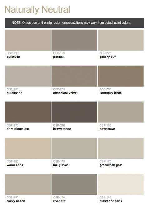 paint colors benjamin moore taupe paints  hirshfield