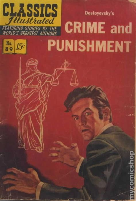 illustrated criminal procedure investigation and justice books classics illustrated 089 crime and 1951 comic