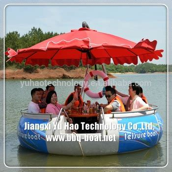 floating boat bbq party grill boat floating bbq donut for sale buy party