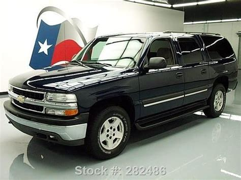 sell used 2004 chevrolet suburban 4x4 9 passenger dvd tow