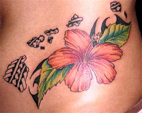 hawaiian flower tattoo designs sheplanet