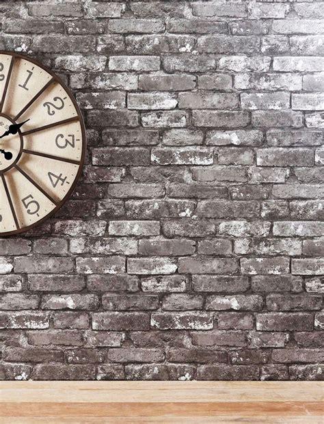 white brick wall wallpaper wall decor grey brick wallpaper from next shades of grey