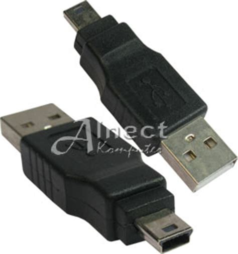 Konektor Hardisk Laptop Ke Usb jual konektor direct usb tipe a ke mini usb 5 pin
