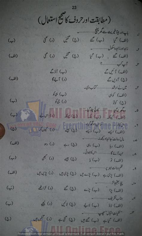 Urdu Essays Notes by Urdu Essay Notes For 2nd Year Commerce