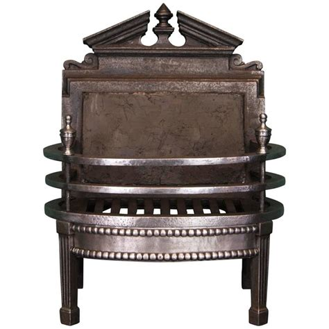 small fireplace grate small 19th century wrought and cast fireplace grate