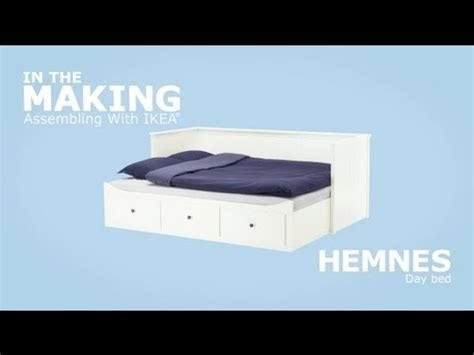 Ikea Malaysia ikea hemnes daybed assembly instructions youtube