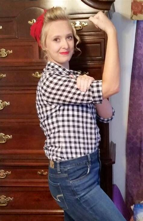 diy  costume checkered button  shirt high rise