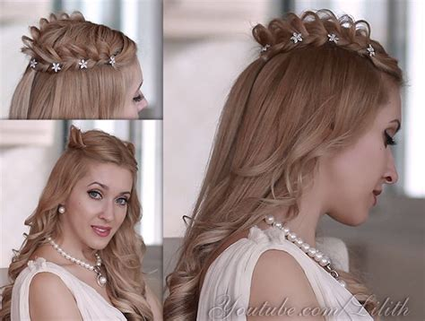 hairstyles for angel costume halloween hair tutorial braided crown hairstyle that will