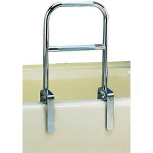 bathtub handicap railing carex dual level bath tub safety grab bar rail with chrome