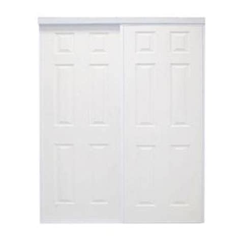home depot white interior doors 72 in x 96 in colonial white prefinished hardboard panels steel framed interior sliding door