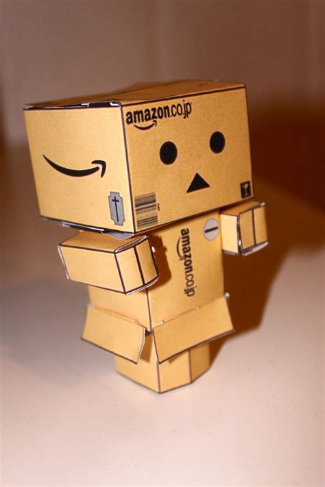 Papercraft Danbo - danbo cubeecraft by stuntfreak31 on deviantart