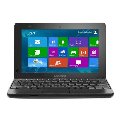 Laptop Lenovo Ideapad E10 lenovo e10 30 intel celeron 10 1 inch 500gb 2gb ram windows 8 black free delivery