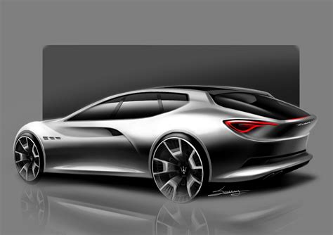 Build A Maserati by What If Maserati Decided To Build A Shooting Brake