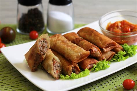Sring Roll Sumpia Special Sarikaya how to make rolls at home