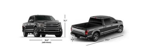 Ford F150 Dimensions Ford Autos Camionetas Suvs H 237 Bridos Y Crossovers