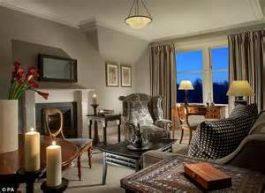 highland themed living room revealed andy murray s new five hotel at cromlix house daily mail