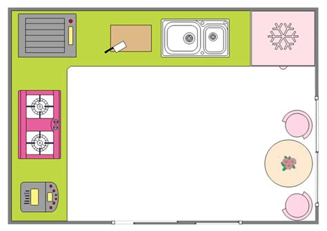 free printable kitchen layout templates