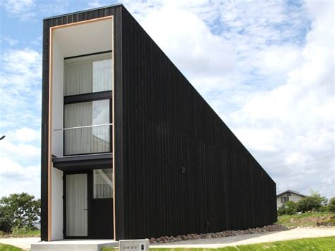 tall house plans tiny timber unuo house in japan has a tall narrow entrance and wide western view