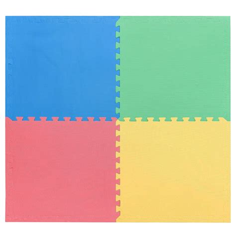 Large Foam Play Mat by Large Interlocking Soft Foam Mats Exercise Floor