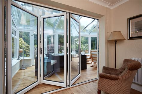 glass panaoramic bi fold doors folding panoramic doors