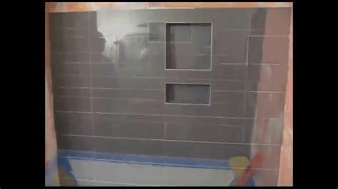 Ceramic Tile Around Bathtub Ceramic Tile Bathroom Tub Area With Quot Schluter Kerdi Quot Youtube