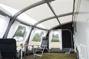 Air Awnings For Caravans Auvent Gonflable Kampa Ace Air 500 Pour Caravane