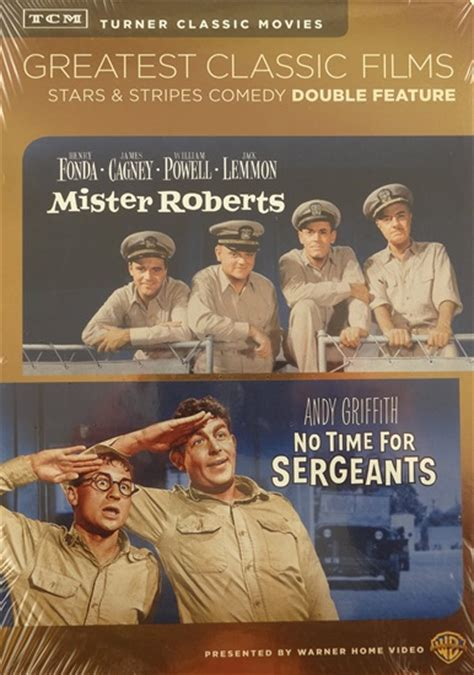best classic movies tcm greatest classic films dvd mister roberts no time for