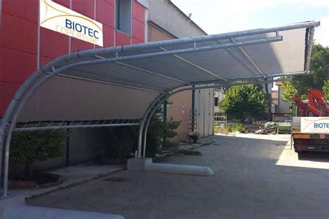 tettoie autoportanti biotec coperture coperture e pensiline su misura in metallo