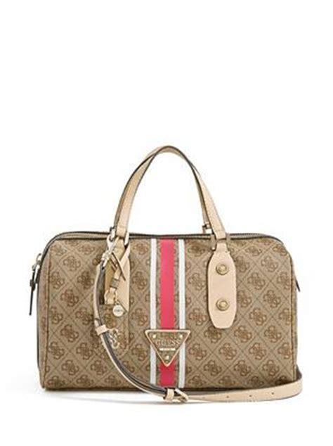 Guess Delaney Mini Palm handbags logo sport brown box satchel