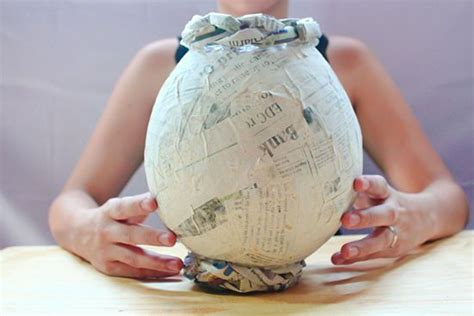 What To Make Out Of Paper Mache - how to make a papier m 226 ch 233 vase