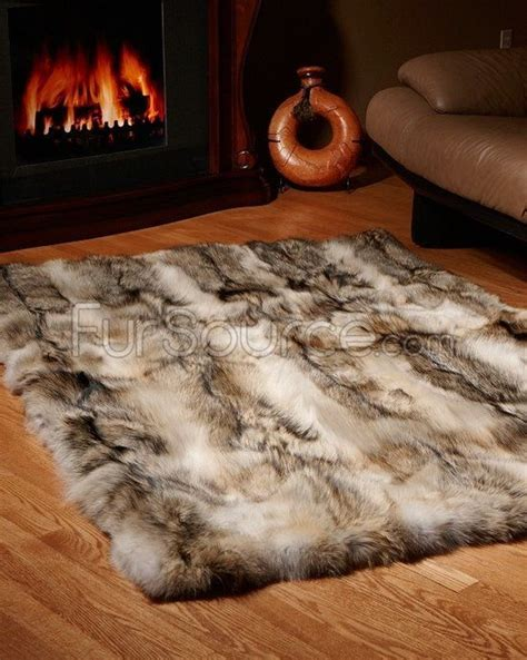 coyote skin rug the world s catalog of ideas