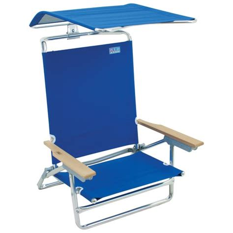 Chair With Canopy Walmart mainstays folding chair with canopy blue walmart