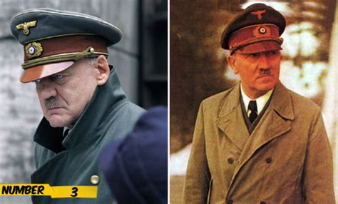 biography movie of hitler when actors transform into real life characters