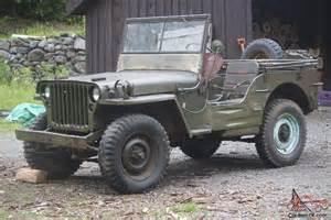1945 Army Jeep 1945 Willys Jeep Ford Gpw Wwii Jeep Army