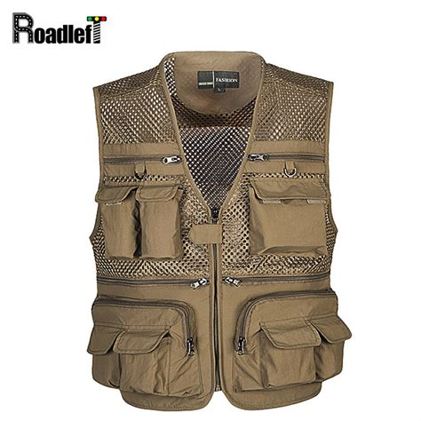 Jaket Rompi Vest Uber Apps 2 multi pocket vest s army sleeveless