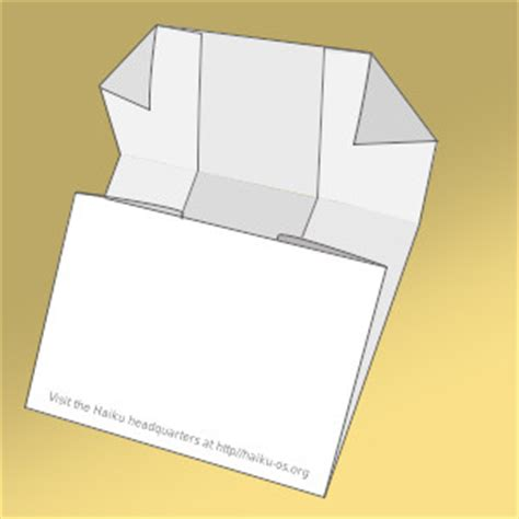 foldable cd sleeve template haiku cd paper sleeve haiku project