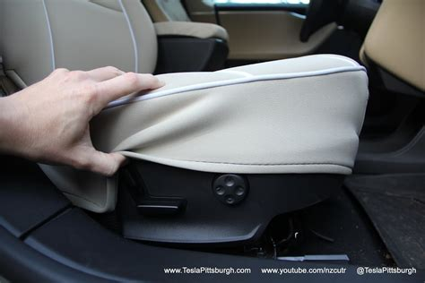 Tesla Model S Seat Covers Model S Front Seat Covers Review Outerwear For Your Inner
