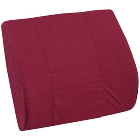 Memory Foam Lumbar Support Pillow by Memory Foam Lumbar Support Cushion At Healthykin