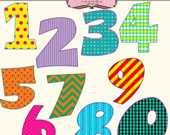 fancy printable numbers 1 10 fancy numbers 1 20 clipart