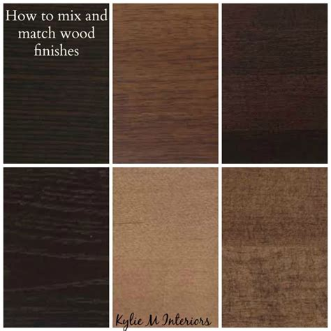 espresso wood color how to mix match and coordinate wood stains undertones