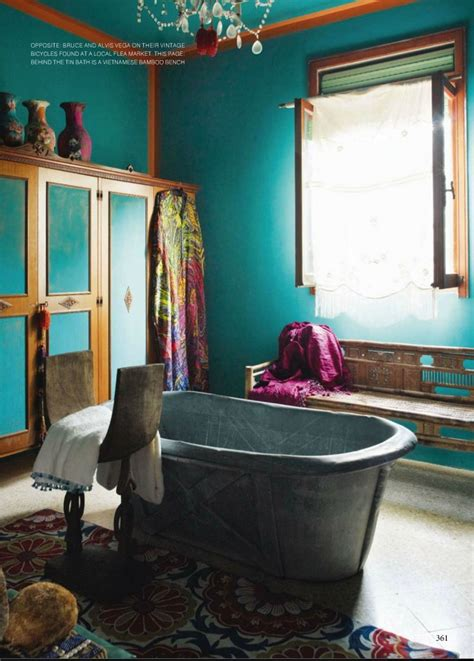 Used Clawfoot Bathtub 15 Attractive Bohemian Bathrooms Ideas