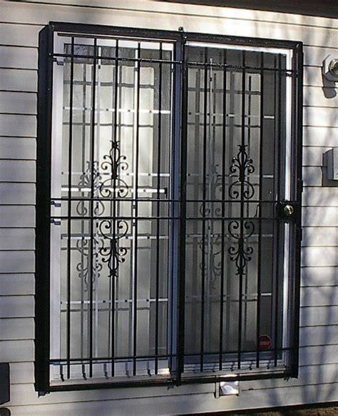 iron security doors and patio gates doors custom made in