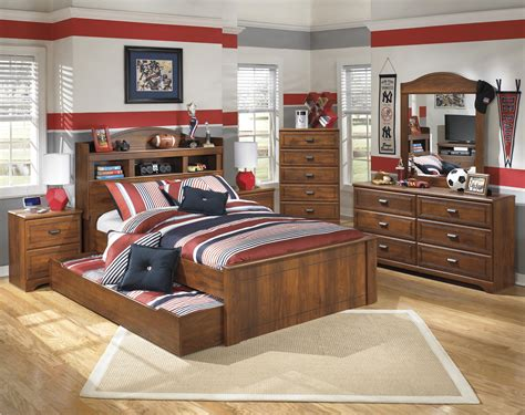 barchan full bookcase bed ashley signature design barchan full bookcase bed with