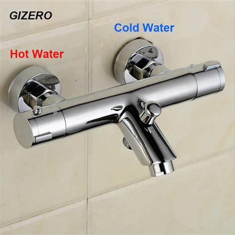 bathtub faucet temperature control gizero thermostatic mixing valve bathroom shower faucet
