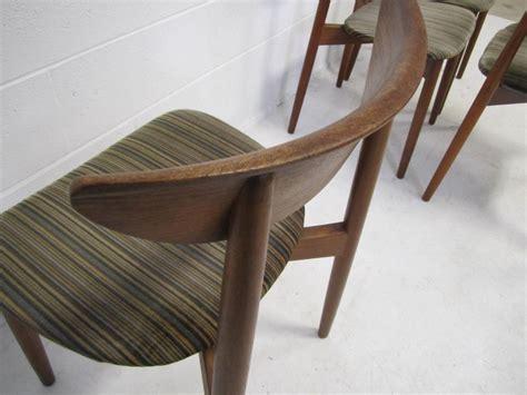 set of four danish modern teak dining room chairs for sale set of four harry ostergaard teak danish modern dining